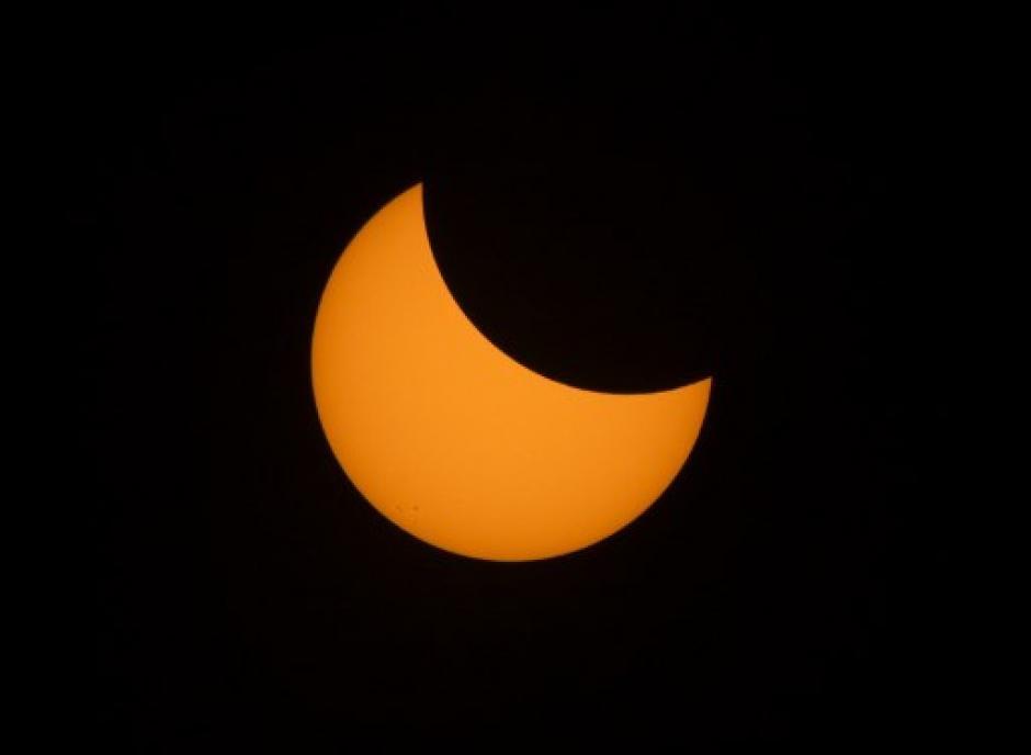 Al menos 9 estados de EE. UU. disfrutaron el eclipse. (Foto: AFP)