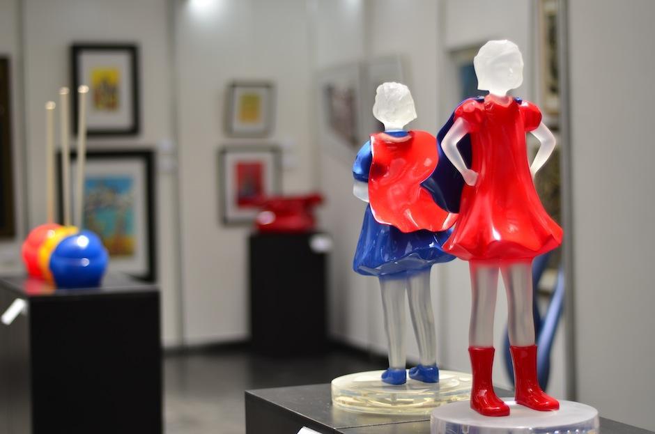 Este año son expuestas para la venta más de 150 piezas. (Foto: Selene Mejía/Soy502)