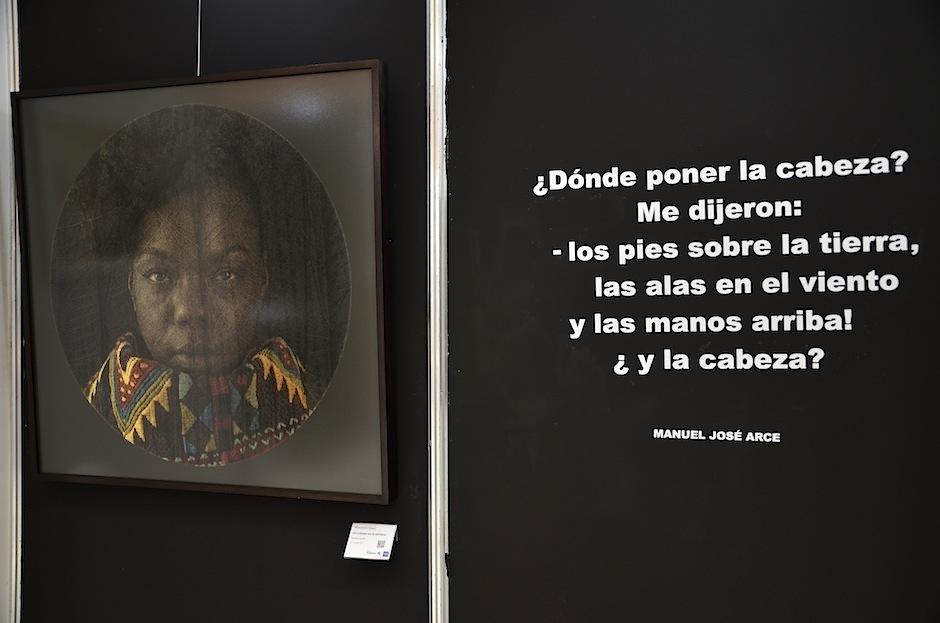 Manuel José Arce inspiró esta pieza. (Foto: Selene Mejía/Soy502)