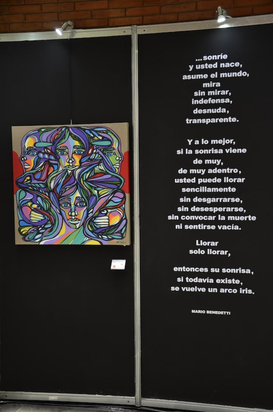 La venta de las piezas ayuda a la Fundación Junkabal. (Foto: Selene Mejía/Soy502)