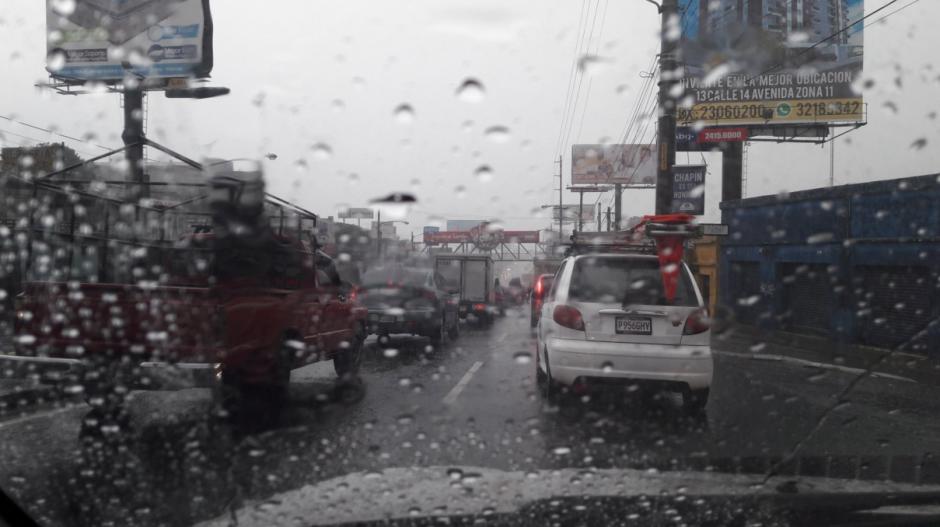 Las lluvias continúan en varios puntos del país. (Foto: Twitter)