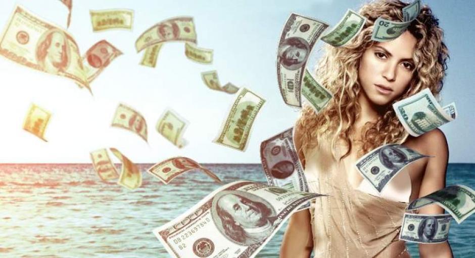 Shakira gana más que Gerard Piqué foto