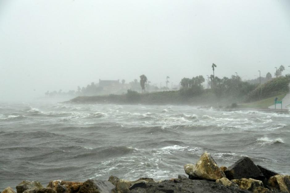El paso de Harvey ocasionó inundaciones. (Foto: AFP).
