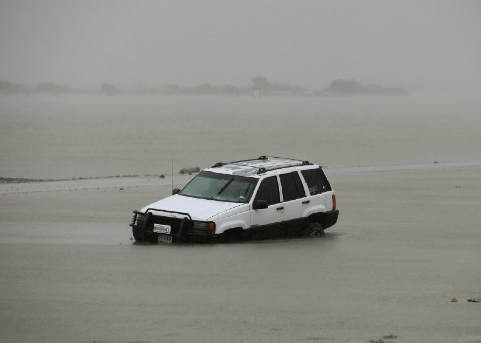 Los vientos del huracán Harvey llegaron a los 215 kilómetros por hora. (Foto: AFP).