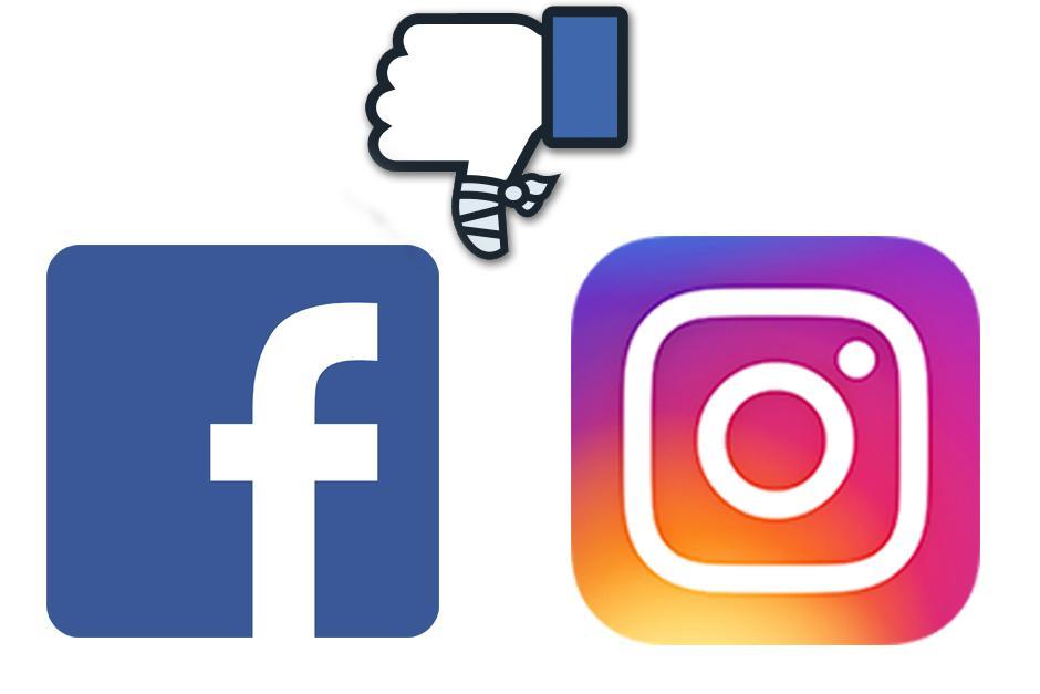 No eres tú, son Facebook e Instagram