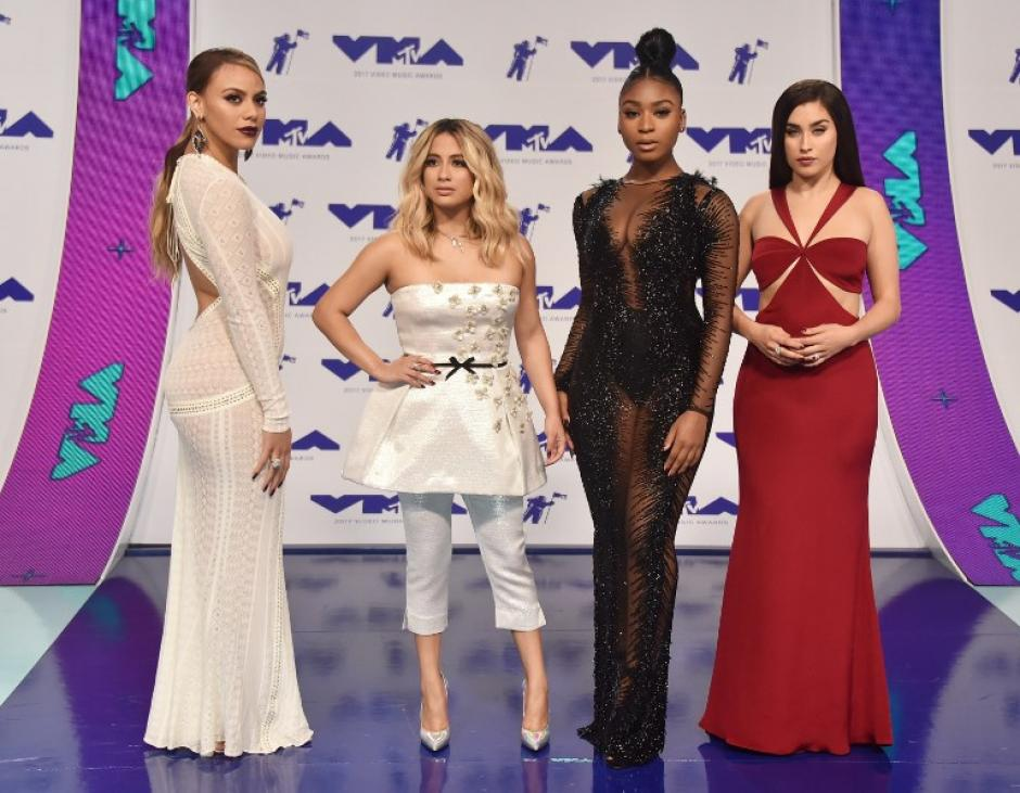 Fifth Harmony en los Video Music Awards 2017. (Foto: AFP)