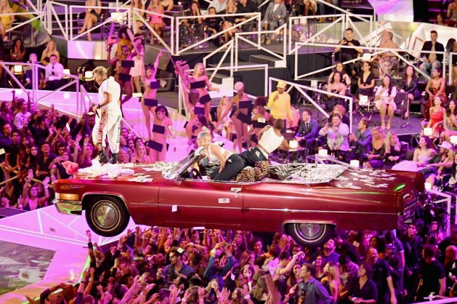 Pink cantó sus temas más conocidos. (Foto: AFP)
