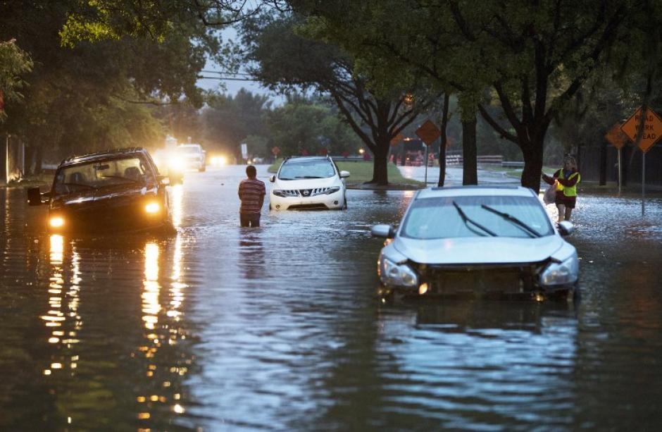 Las autoridades explican que estas inundaciones no tienen precedentes. (Foto: AFP)