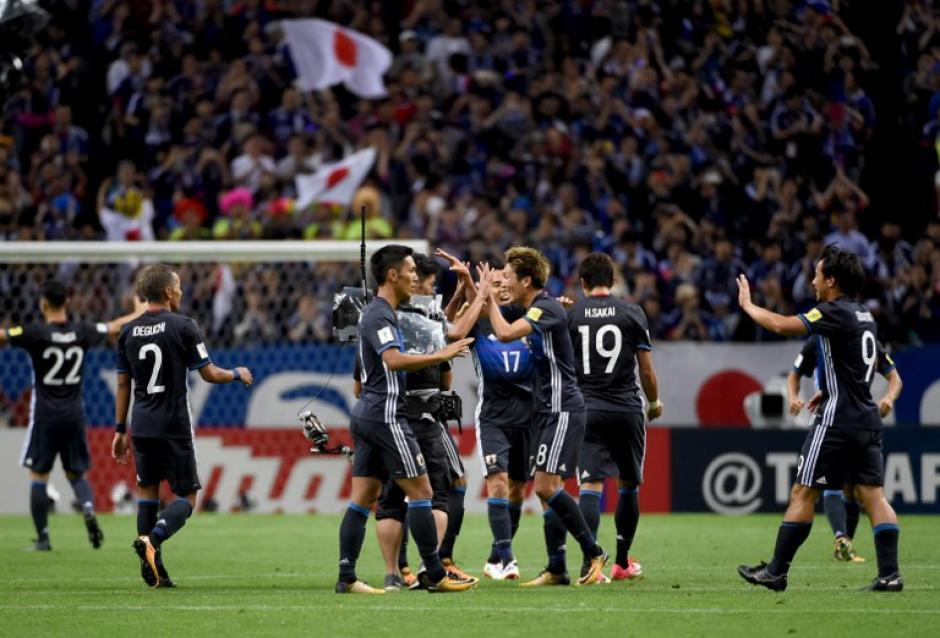 Los nipones se impusieron a Australia por marcador de 2 a 0. (Foto: AFP)
