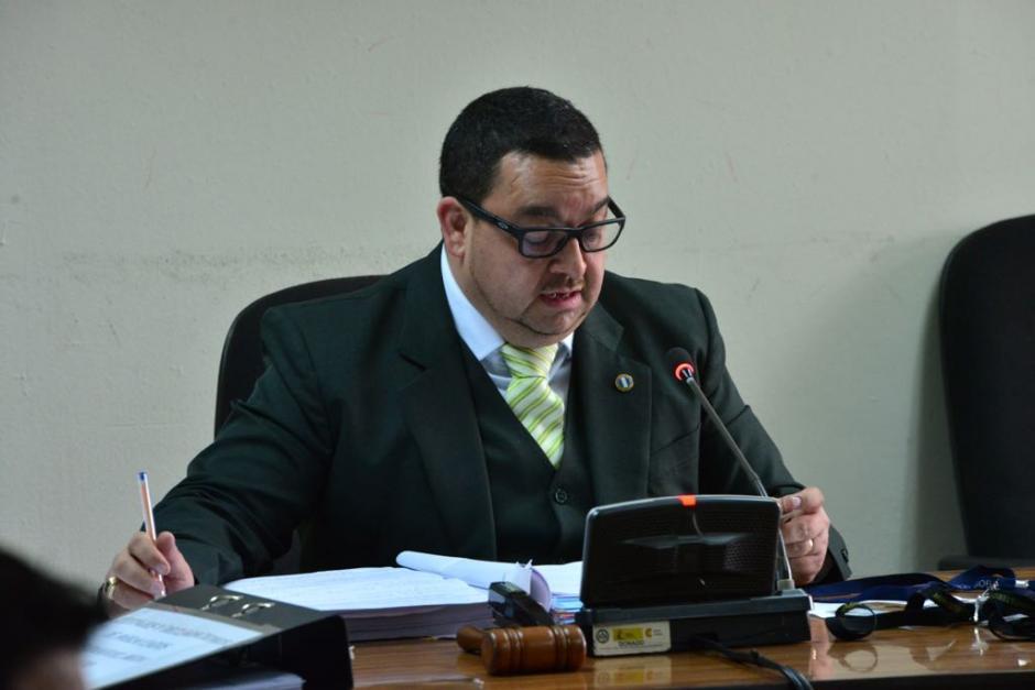 El juez Carlos Toledo rechazó la petición de Meda y también una solicitud de la Fiscalía. (Foto: Jesús Alfonso/Soy502)