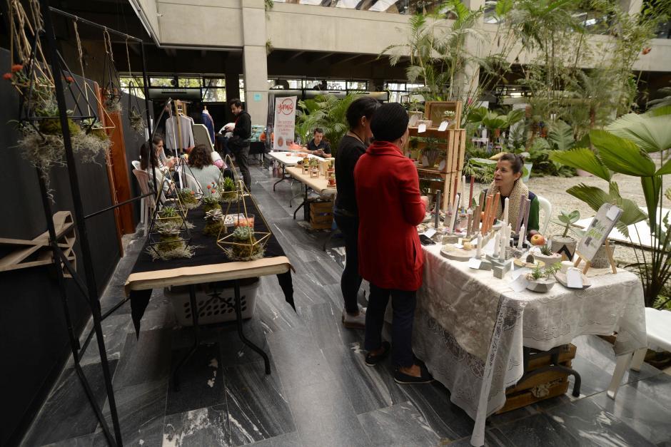 El evento se encuentra en el espacio cultural 1001 Noches en zona 10. (Foto: Wilder López/Soy502)