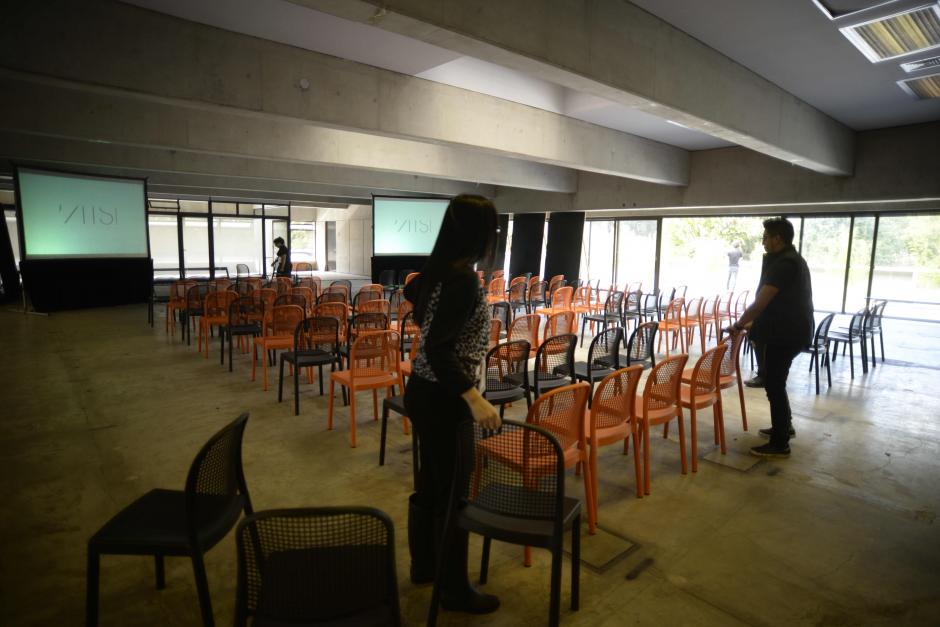 Raise incluye un espacio de conferencias sobre asesorías para nuevos emprendedores. (Foto: Wilder López/Soy502)
