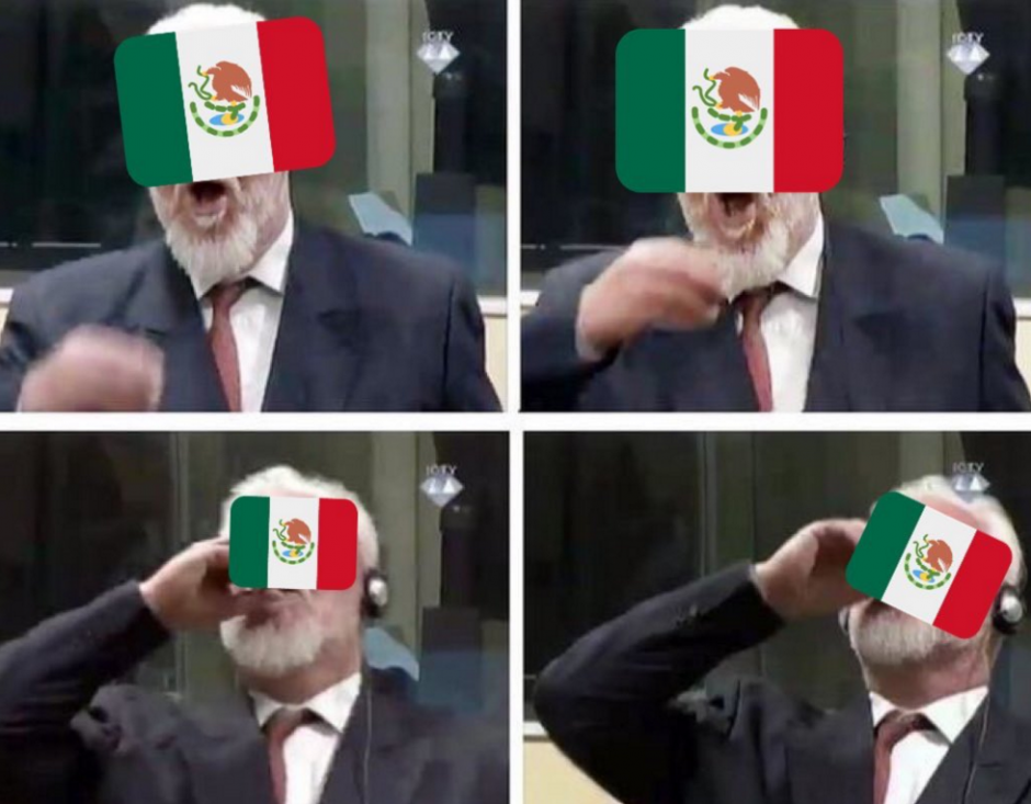 Los usuarios eliminaron las aspiraciones de México en el Mundial. (Foto: Twitter)