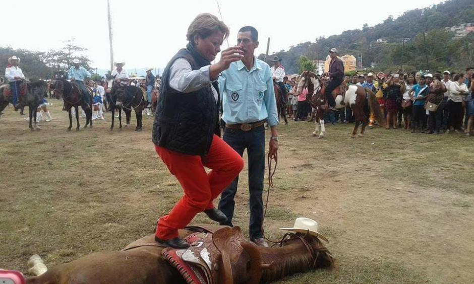 Según medios de comunicación locales, esta actividad es una tradición. (Foto: Soy502)