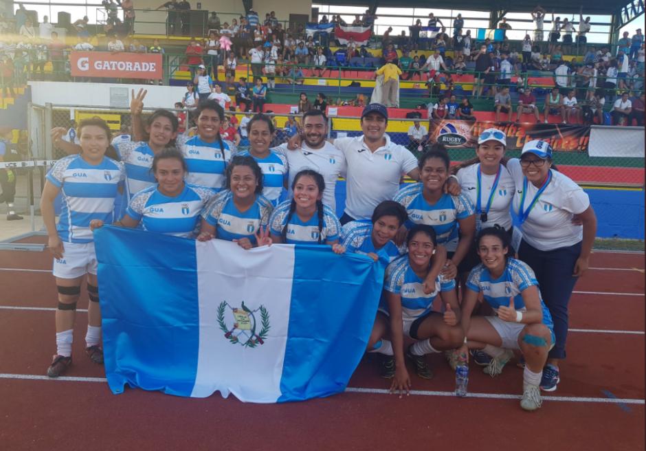 La selección femenina derrotó en el primer encuentro a Costa Rica. (Foto: Comité Olímpico Guatemalteco)