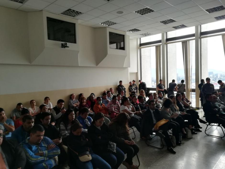 Un total de 41 personas enfrentan un debate oral por ser parte o haberse beneficiado de una red que operaba en Migración. (Foto: Jesús Alfonso/Soy502)