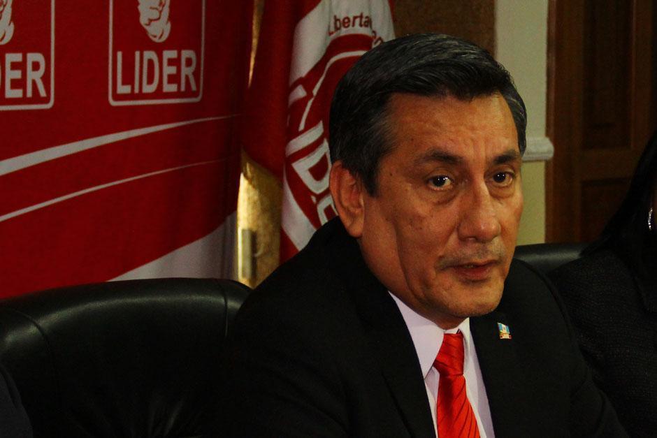 Roberto Villate fue el secretario general del partido Líder y enfrenta proceso de antejuicio. (Foto: archivo/Soy502)