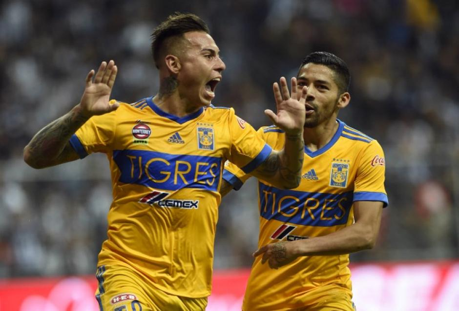 Tigres venció a su archirrival, Monterrey en la final en el estadio BBVA Bancomer. (Foto: AFP)