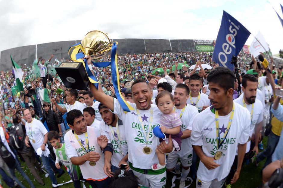 Antigua consiguió su primer título en el Apertura 2015. (Foto: Archivo/Nuestro Diario)
