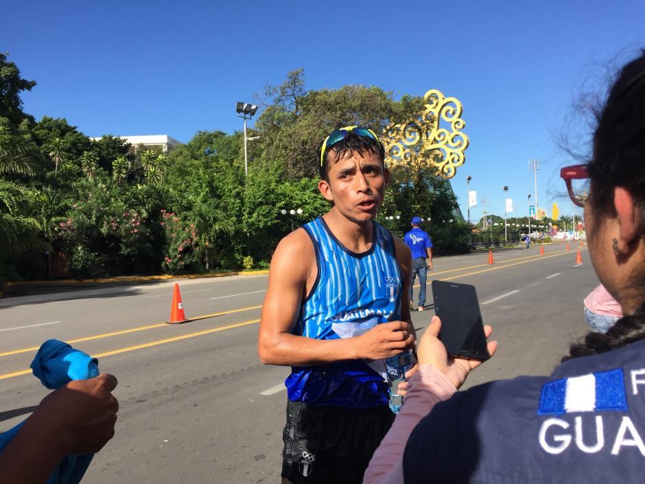 Bernardo Uriel Barrondo alcanzó la gloria en la prueba de los 35 kilómetros. (Foto; COG)