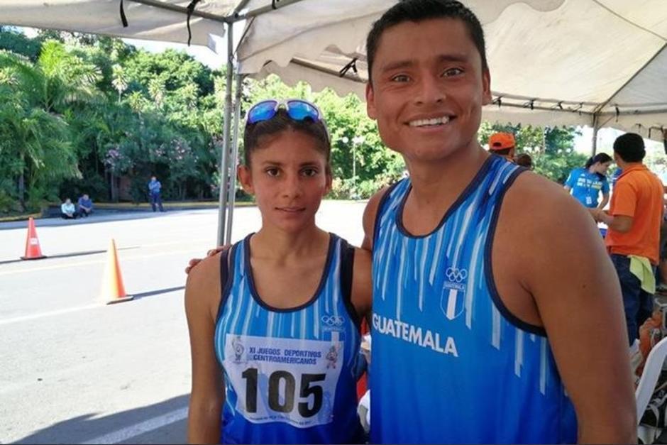Mirna Ortiz y Erick Barrondo lograron una hazaña en los Juegos Centroamericanos de Managua. (Foto: Twitter Mirna Ortiz)