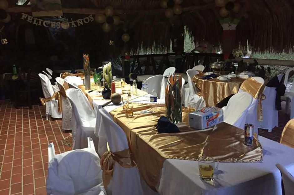 La fiesta se llevó a cabo en un hotel de lujo de Colombia. (Foto: Infobae)