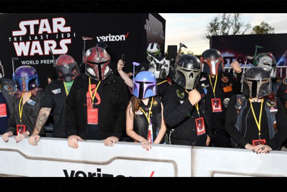 """Los miembros del Club de disfraces """"Mandalorian Mercs"""" también asistieron (Foto: APF)"""