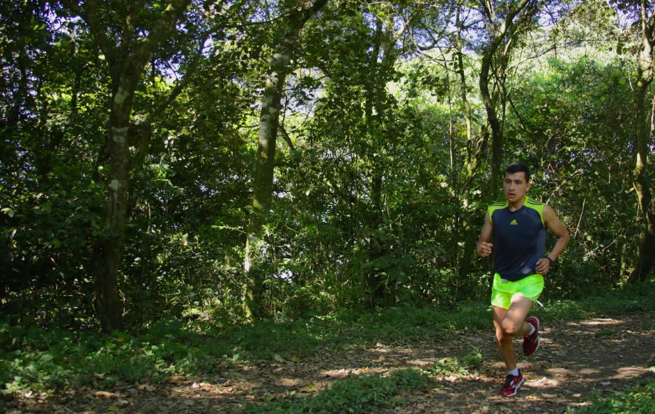 A partir de las 9 horas se dio el banderazo de salida a la competencia con la participación de 75 corredores, en un circuito de 7 kilómetros.  (Foto: cortesía de CoreMKT)