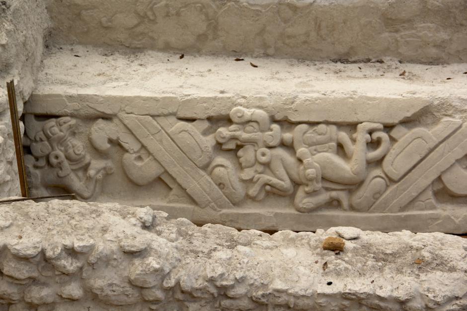 Los arqueólogos han hecho grandes recuperaciones en la Gran Acrópolis Central de El Mirador. (Foto: Fredy Hernández/Soy502)