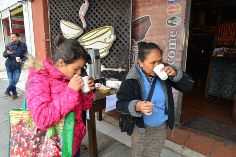 El dueño del local pidió a sus trabajadores dar café de cortesía. (Foto: Jesús Alfonso/Soy502)