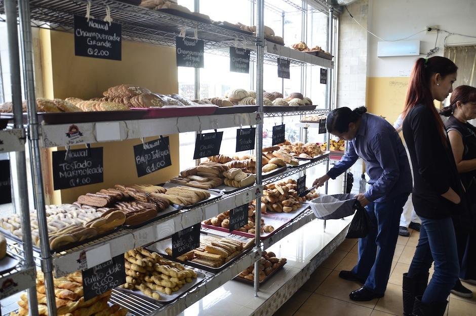 El lugar también ofrece pan tradicional guatemalteco. (Foto: Selene Mejía/Soy502)