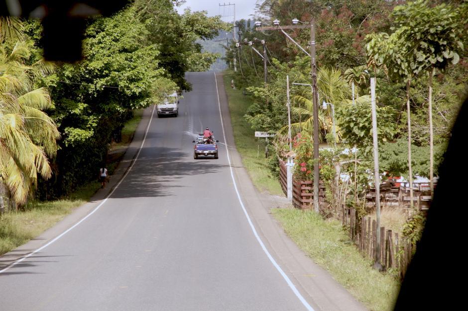 El parque natural se encuentra sobre la carretera de la Franja Transversal del Norte. (Foto: Fredy Hernández/Soy502)