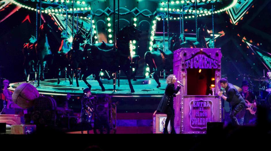 Gaby Moreno sorprendió al guatemalteco al aparecer en el escenario. (Selene Mejía/Soy502)