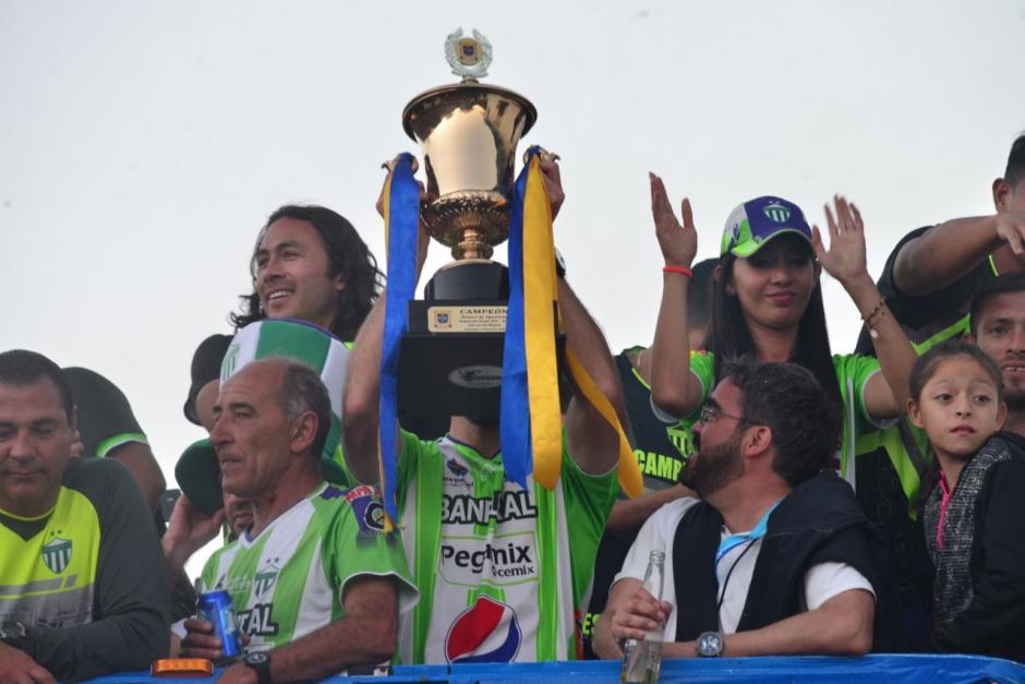 La Copa recorrió Antigua Guatemala. (Foto: Jesús Alfonso/Soy502)