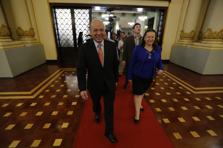 """El ministro indicó que el salón quedó """"muy lindo"""".  (Foto: Cultura)"""
