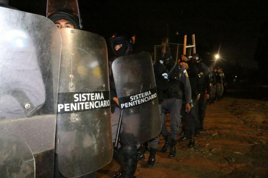 El operativo inició luego de una pelea en la prisión. (Foto: Sistema Penitenciario)