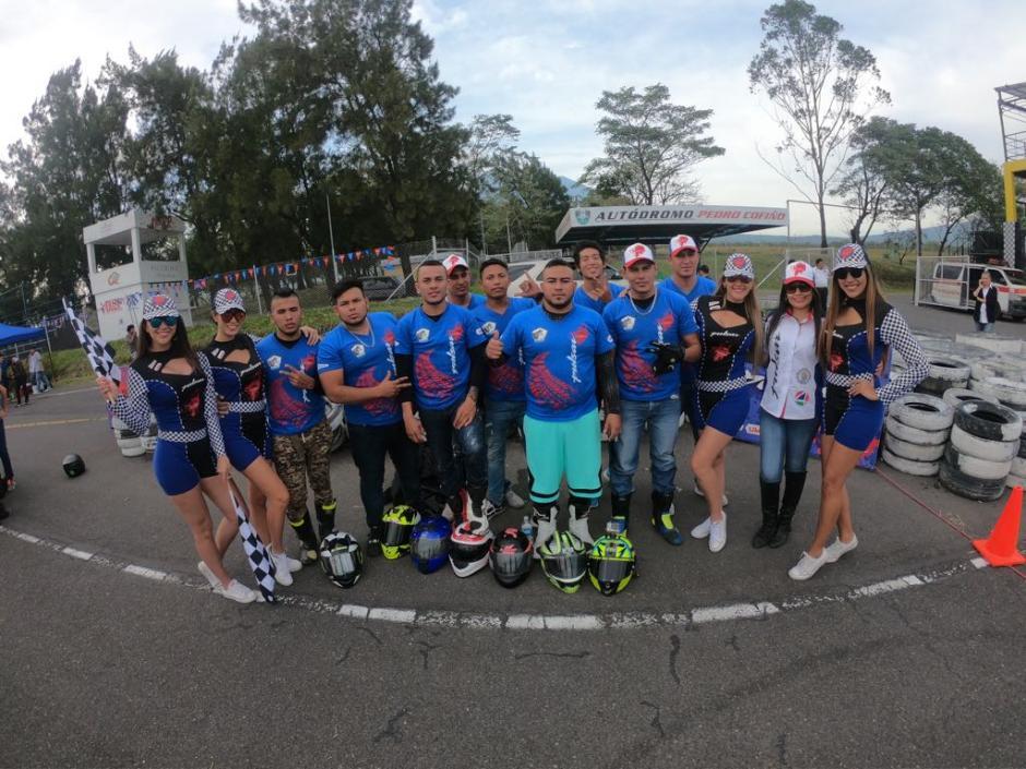 Competidores de Honduras, Guatemala, Nicaragua y Costa Rica se enfrentaron en la competencia.  (Foto: cortesía Bajaj Guatemala)