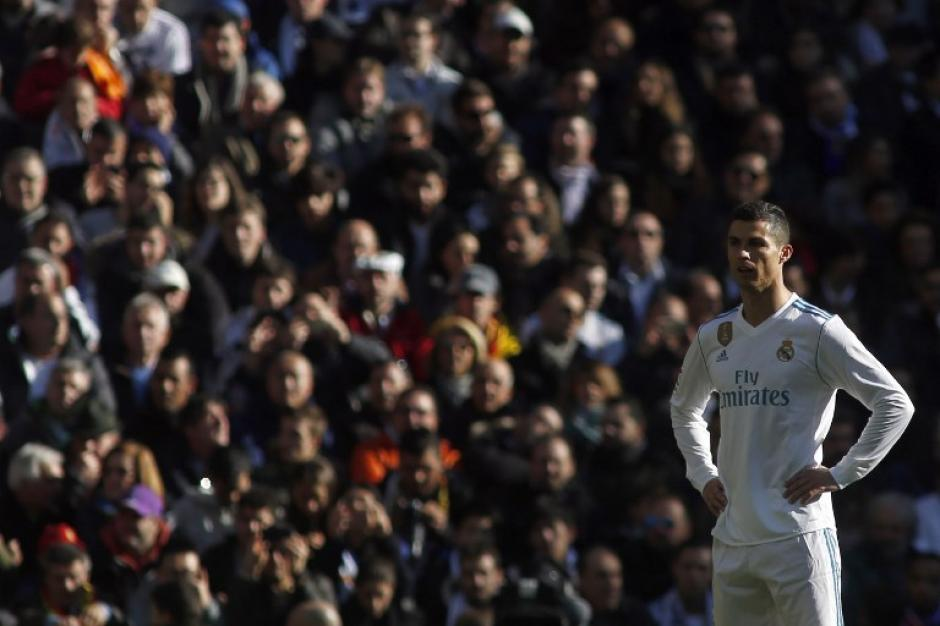Cristiano Ronaldo se diluyó en el segundo tiempo. (Foto: AFP)