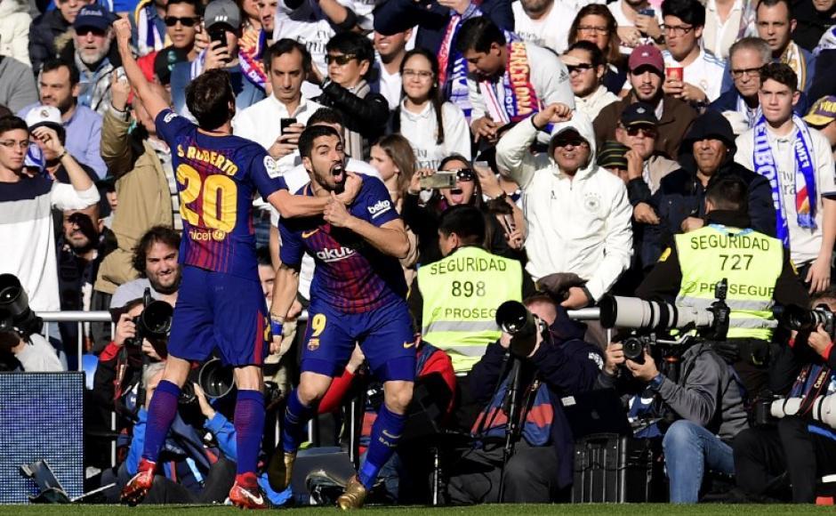 El Barcelona amplió su ventaja de puntos frente al Real Madrid. (Foto: AFP)