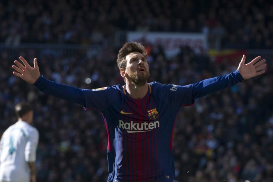 Lionel Messi encabeza esta lista que lo pone como el mejor del 2017. (Foto: AFP)