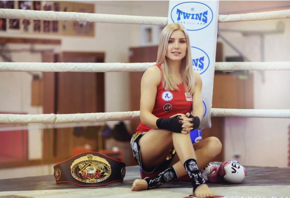 Ekaterina también comparte su pasión por el modelaje. (Foto: Instagram)