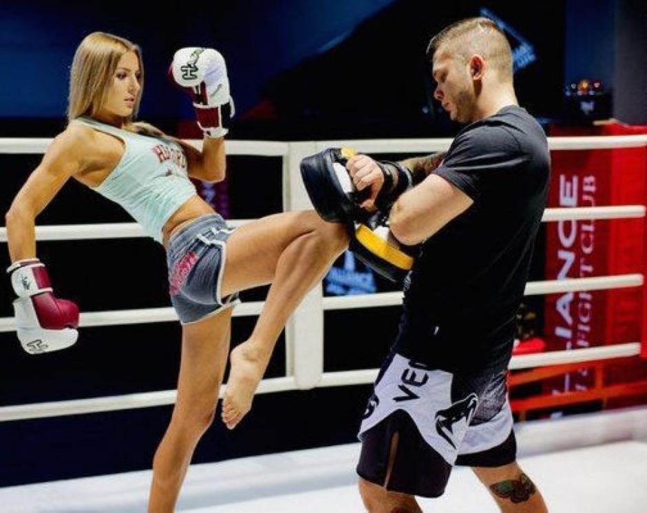 "Ekaterina Vandaryeva es la reina del ""muay thai"". (Foto: Instagram)"