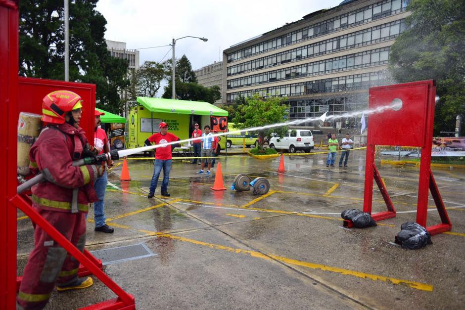 Los participantes tuvieron que realizar diferentes actividades. (Foto: Jesús Alfonso/Soy502)