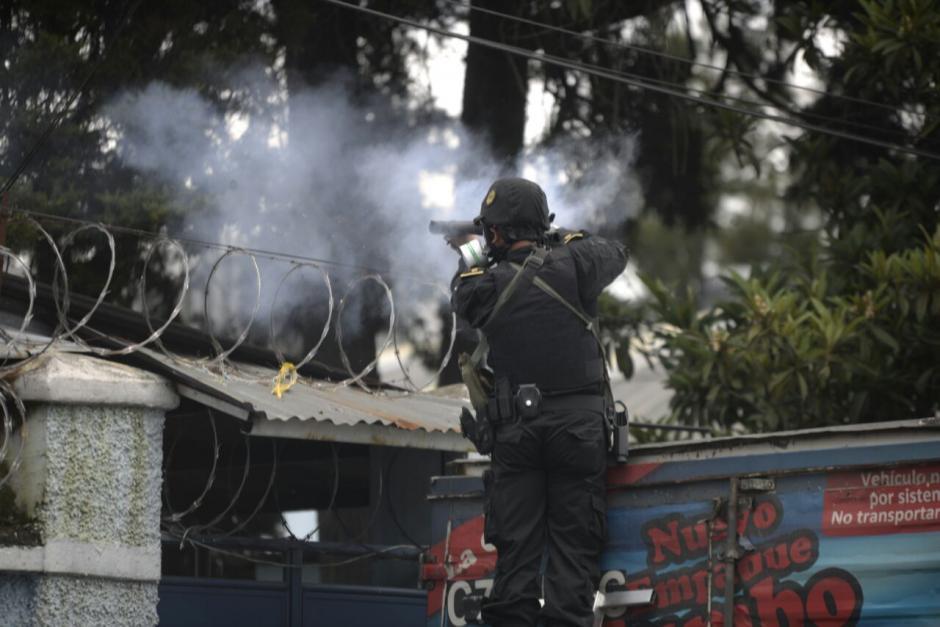 Varias detonaciones se escuchan en las cercanías del lugar. (Foto: Wilder López/Soy502)