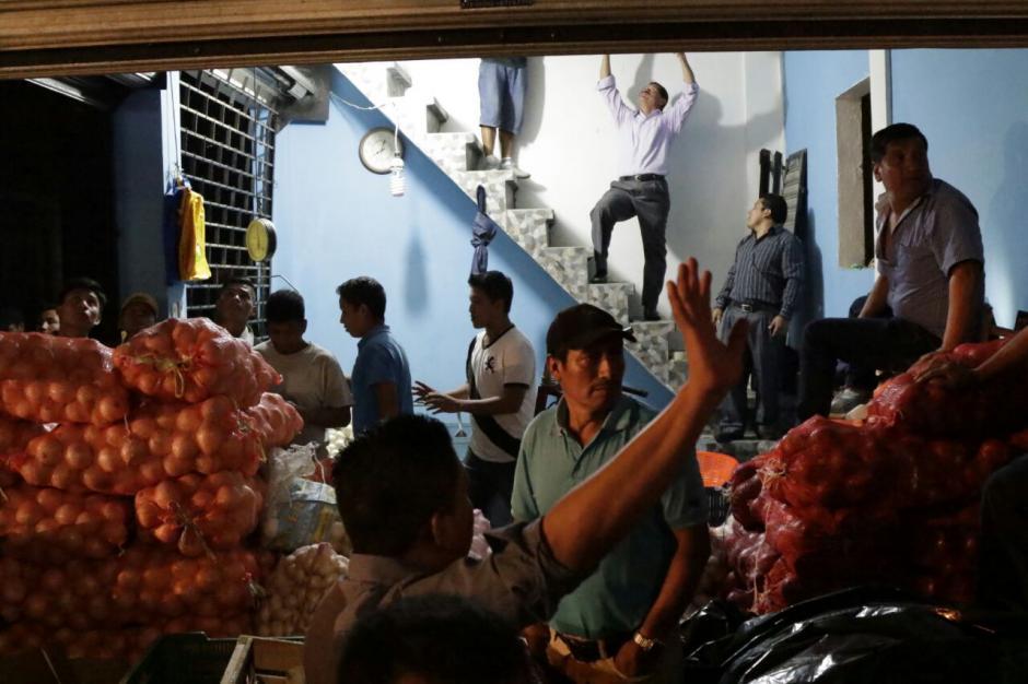 El siniestro se registró en el área de comercio de cebollas. (Foto: Alejandro Balán/Soy502)