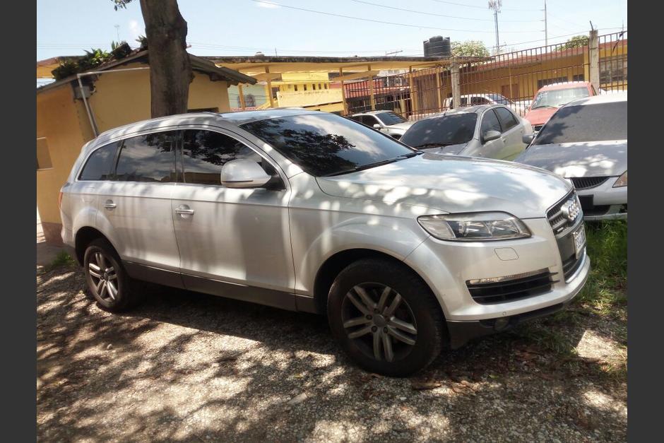 Este es uno de los vehículos localizados por las autoridades. (Foto: PNC)
