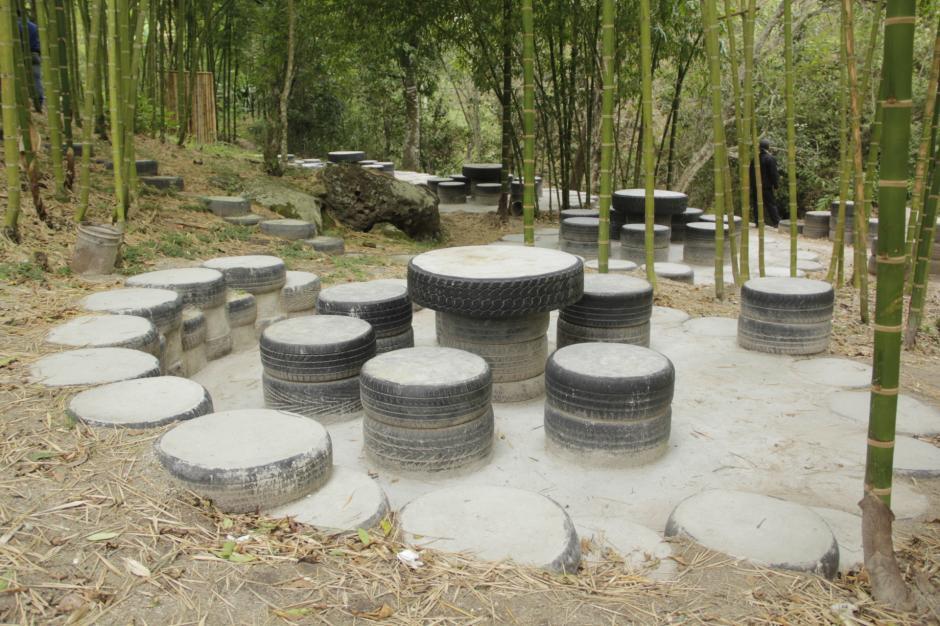 También ha creado otros proyectos como un parque ecológico a un costado del Ecomuro. (Foto: Fredy Hernández/Soy502)
