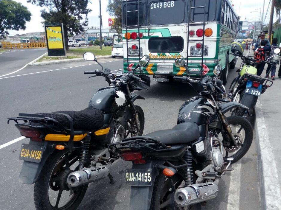 Ambos conductores fueron detenidos por las autoridades. (Foto: Amílcar Montejo)