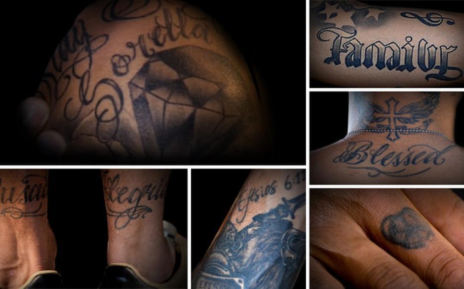 Todo el cuerpo de Neymar tiene muchos tatuajes. (Foto: Tatuante)