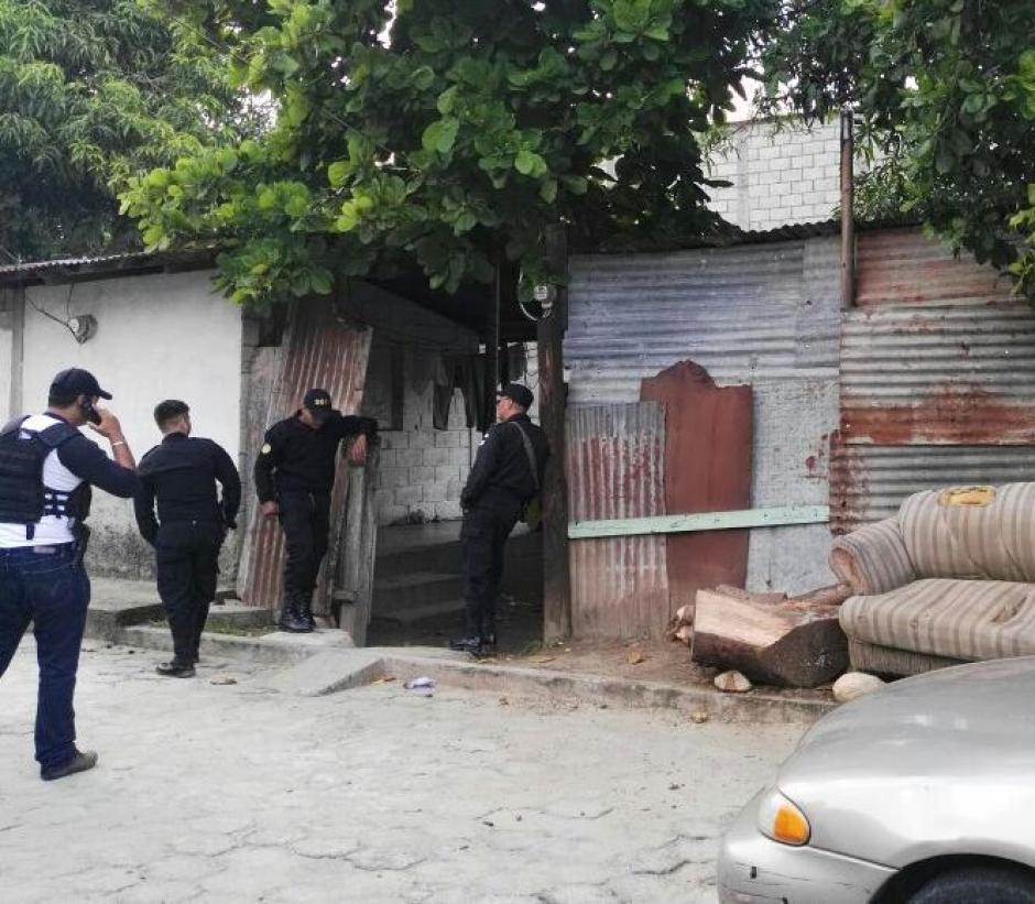 Así es la entrada principal de la vivienda del acusado. (Foto: PNC)